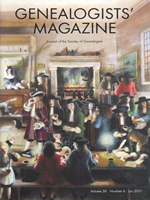 Genealogists' Magazine
