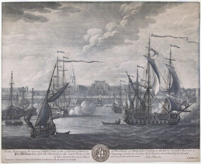 Fort William, Calcutta 1735